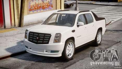 Cadillac Escalade Ext для GTA 4 вид справа