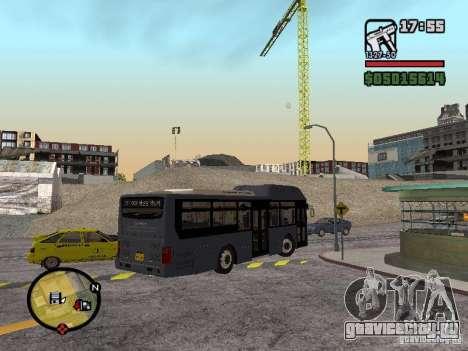 Daewoo BS110CN для GTA San Andreas вид слева