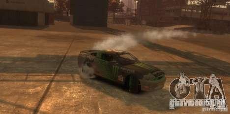 Ford Mustang Monster Energy 2012 для GTA 4 вид изнутри