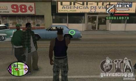 Новый прицел для GTA San Andreas седьмой скриншот