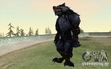 Werewolf Transformation V1.0 для GTA San Andreas