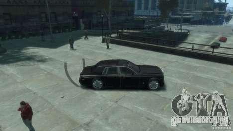 Rolls-Royce Phantom для GTA 4 вид сзади