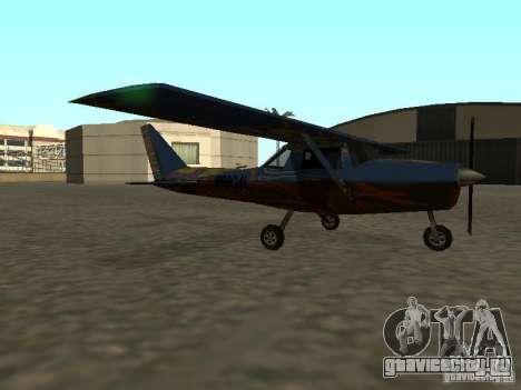 Новый самолёт Dodo для GTA San Andreas вид слева