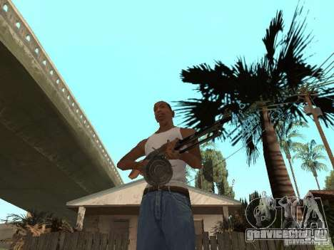 Ручной Пулемёт Дягтерёва для GTA San Andreas второй скриншот