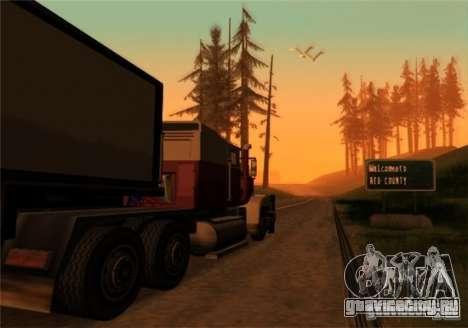 Грузоперевозки v2.0 для GTA San Andreas второй скриншот