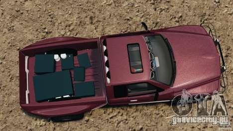 Dodge Ram 2500 Army 1994 v1.1 для GTA 4 вид справа