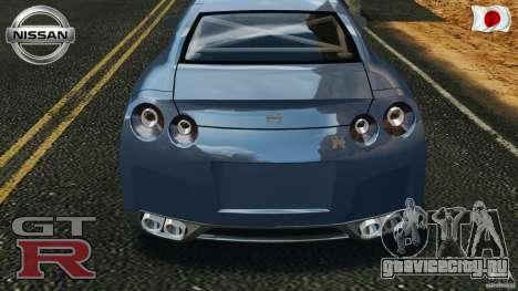 Nissan GT-R 35 rEACT v1.0 для GTA 4 вид сбоку