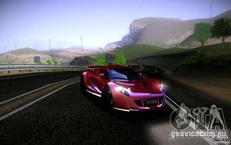 Hennessey Venom GT 2010 V1.0 для GTA San Andreas вид сзади слева