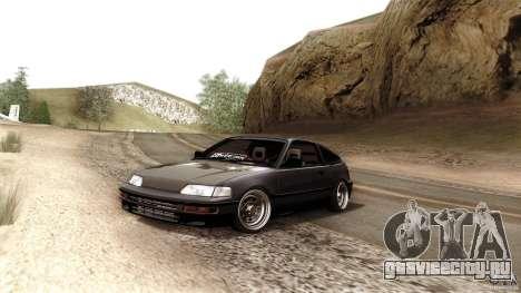Honda CRX JDM для GTA San Andreas