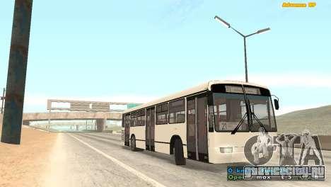 Mercedes-Benz Turk O345 для GTA San Andreas вид справа