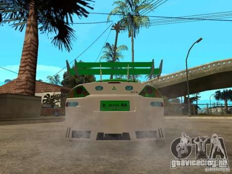 Mitsubishi Eclipse Midnight Club 3 DUB Edition для GTA San Andreas вид сзади слева