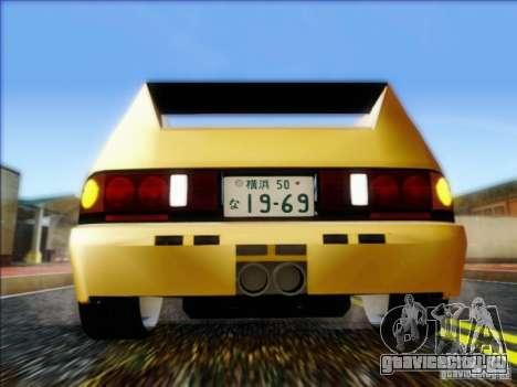 Diablo-Seven для GTA San Andreas вид справа