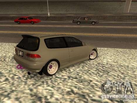 Honda Civic EG6 JDM для GTA San Andreas вид слева