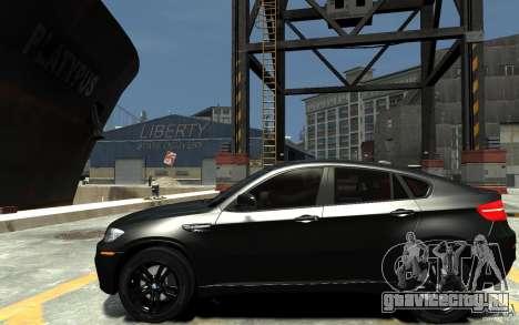 BMW X6 M для GTA 4 вид слева