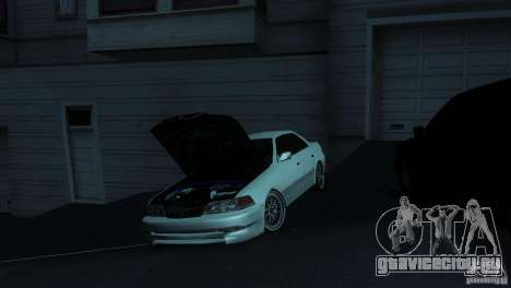 Toyota Mark II 100 для GTA San Andreas вид изнутри