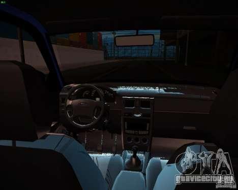 ВАЗ 2172 Рестайл для GTA San Andreas вид сбоку