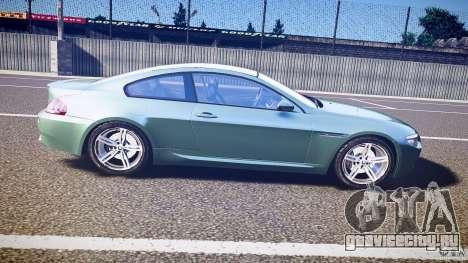 BMW M6 v1.0 для GTA 4 вид сбоку