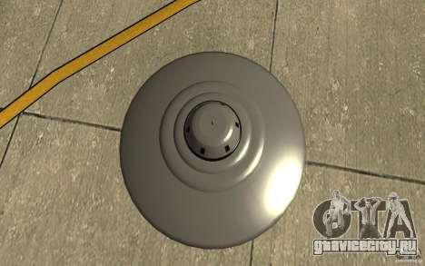 Bob Lazar Ufo для GTA San Andreas вид справа