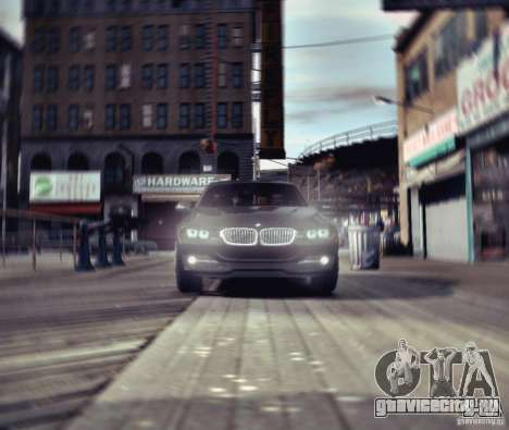 BMW 335i Coupe для GTA 4 вид изнутри