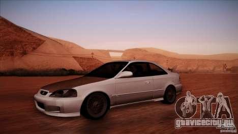 Honda Civic Coupe Si Coupe 1999 для GTA San Andreas