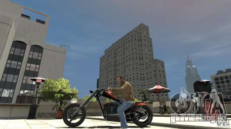 The Lost and Damned Bikes Diabolus для GTA 4