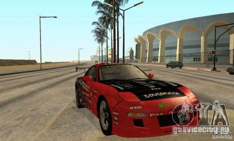 Mazda RX-7 FD3S для GTA San Andreas вид сзади