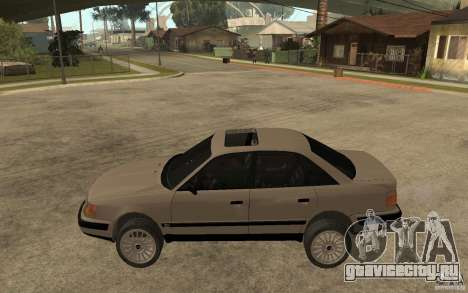 Audi 100 C4 1992 для GTA San Andreas вид слева