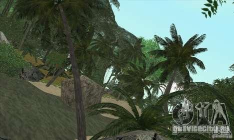 Тропический остров для GTA San Andreas третий скриншот
