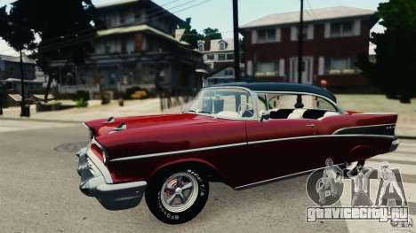 Chevrolet Bel Air Hardtop 1957 Light Tun для GTA 4 вид слева