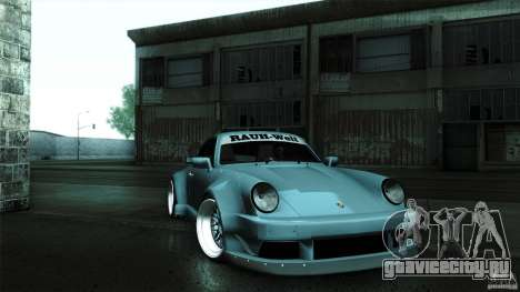 Porsche 911 Turbo RWB DS для GTA San Andreas вид справа