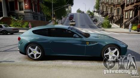 Ferrari FF 2012 для GTA 4 вид сбоку