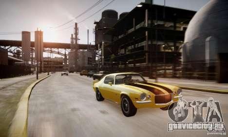 Chevrolet Camaro Z28 для GTA 4 вид сбоку