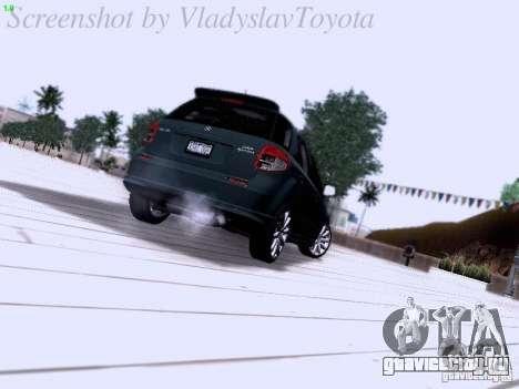 Suzuki SX4 Sportback 2011 для GTA San Andreas вид справа
