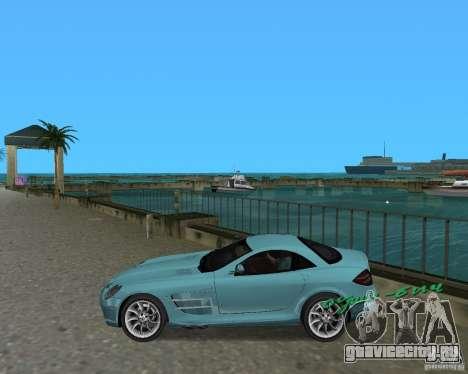 Mercedess Benz SLR Maclaren для GTA Vice City вид слева