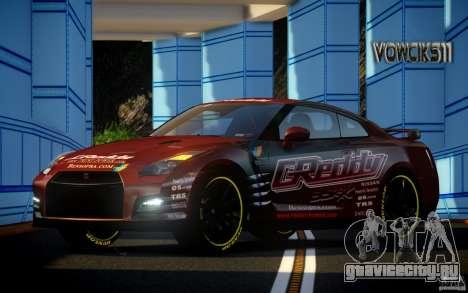 Nissan GT-R Black Edition GReddy для GTA 4
