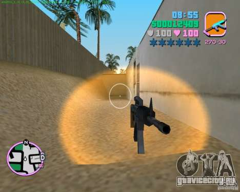 М4 из Counter Strike Source для GTA Vice City второй скриншот