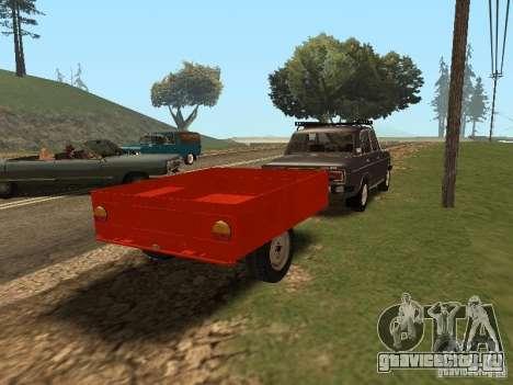 ММЗ 81021 для GTA San Andreas вид сзади слева