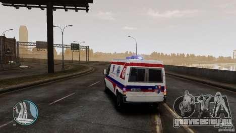 Ford Transit Ambulance для GTA 4 вид справа
