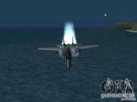 F-14 для GTA San Andreas вид справа