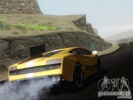 Lamborghini Gallardo LP640 Vallentino Balboni для GTA San Andreas вид слева