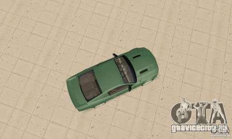 Saleen S281 v2 для GTA San Andreas вид сзади