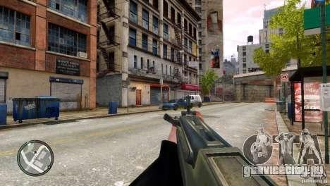 Tavor TAR-21 для GTA 4 пятый скриншот