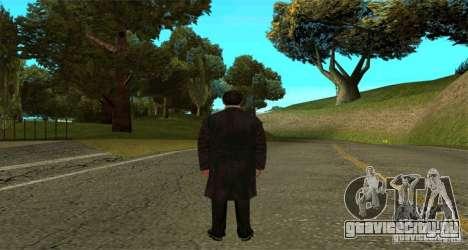 Вито Корлеоне для GTA San Andreas второй скриншот