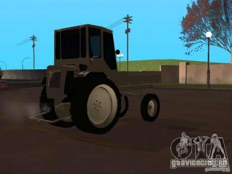 Трактор Т16М для GTA San Andreas вид справа