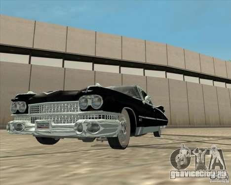 Cadillac Eldorado 1959 для GTA San Andreas вид справа