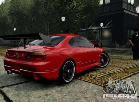 Nissan Silvia S15 для GTA 4 вид справа