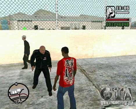 Dwayne The Rock Johnson для GTA San Andreas второй скриншот