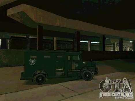 Stokade SAPD SWAT Van для GTA San Andreas вид сзади