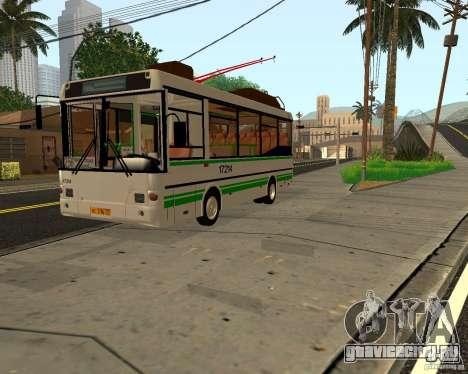 ПАЗ МТРЗ 3237 для GTA San Andreas вид слева