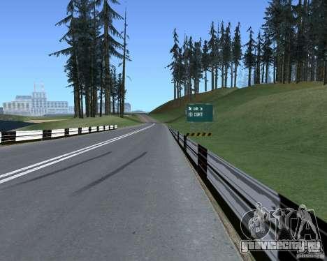 Дорожные указатели v1.1 для GTA San Andreas третий скриншот